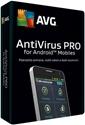 Obrázek AVG Antivirus PRO pro mobily SMB, licence pro nového uživatele, počet licencí 25, platnost 1 rok