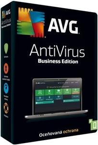 Obrázek AVG Anti-Virus Business Edition, licence pro nového uživatele, počet licencí 40, platnost 1 rok