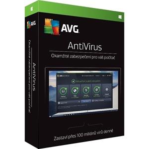 Obrázek AVG Anti-virus 2017, licence pro nového uživatele, počet licencí 1, platnost 3 roky